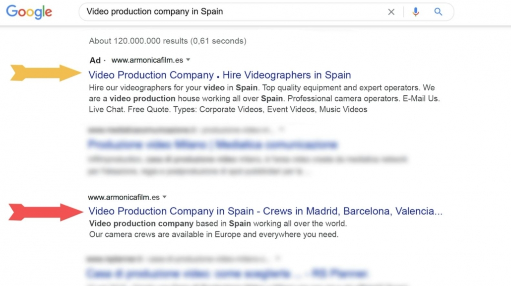 best video production company in spain